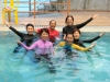 Synchronised Swimming on 26.6.12 by Ms Meharu from Japan International Corporation Agency (JICA)